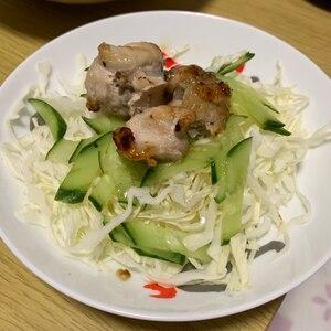 焼き鳥サラダ