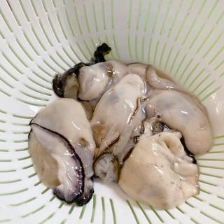 牡蠣のむき身 解凍方法