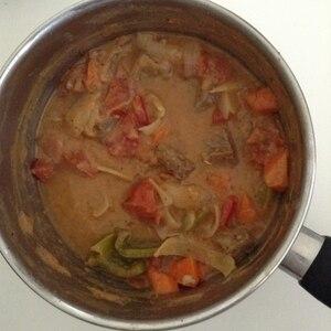 ルウなしデミなしトマト缶で簡単ハッシュドビーフ