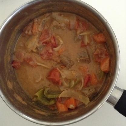 今までルウを使って作っていましたが、それよりもおいしくできました これからはこのレシピで作ります!