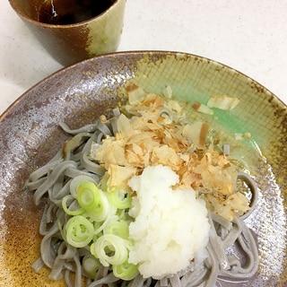 越前おろしそば  (福井の郷土料理)