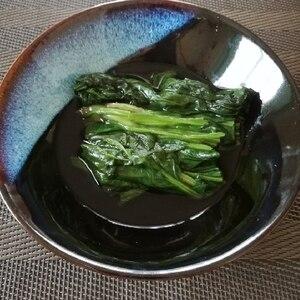 簡単,定番常備菜/ほうれん草のおひたし