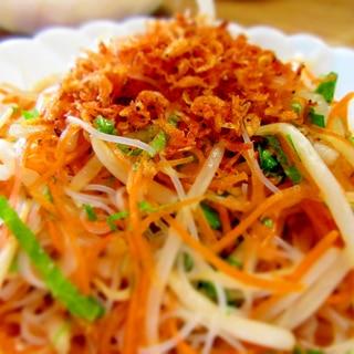 ベトナム風ビーフンサラダ