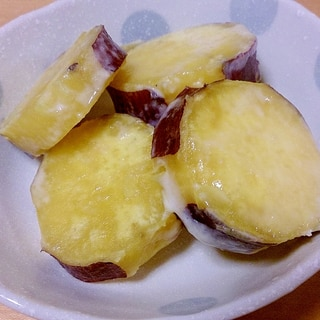 さつまいものバターミルク煮☆お弁当にもOK!!