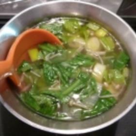 チンゲン菜の使い方