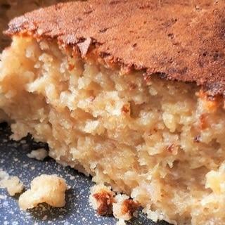 フープロ・炊飯器で簡単バナナケーキ・小麦粉使用