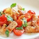 豚肉とトマトのイタリアン風炒め物