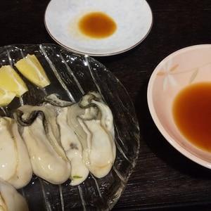 生牡蠣4種 〜生牡蠣の美味しい食べ方〜
