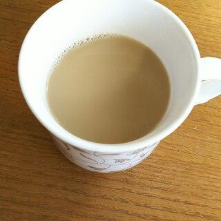 緑茶ミルクティー