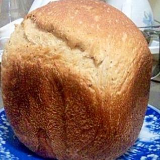 カリカリもちもちっ♪HBで紅茶風味食パン