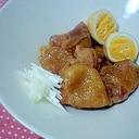 ご飯がすすむ~♪鶏肉のニンニク角煮☆