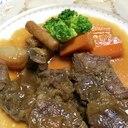 圧力鍋で簡単!牛スネ肉の柔らか煮