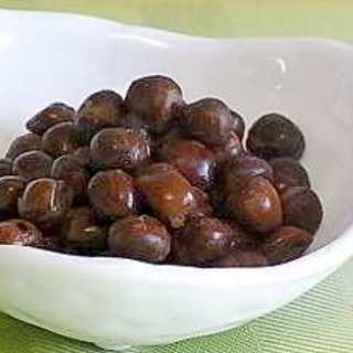 食物繊維たっぷり★赤えんどう豆のおつまみ