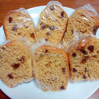 HMレーズン黒糖蒸しパン