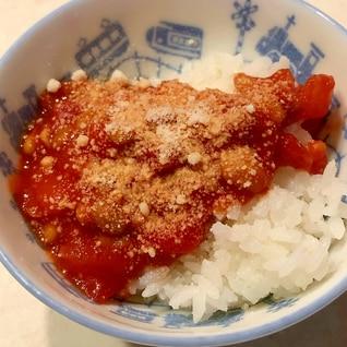 ソイトマトソース丼