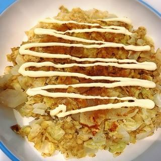 【ダイエット】オートミールお好み焼き