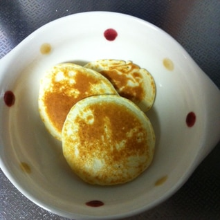 小麦、卵不使用!混ぜて焼くだけ!米粉 パンケーキ