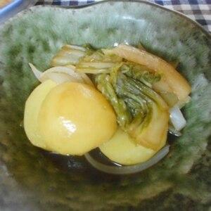 簡単おいしい!白菜じゃがいも大根たまねぎの煮物