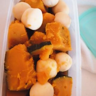 かぼちゃと里芋の煮物