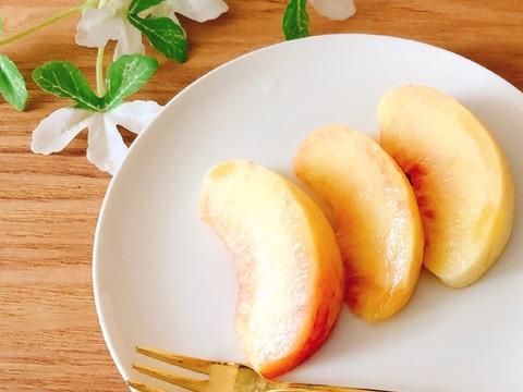 完熟ꕤ 桃の切り方✧˖°