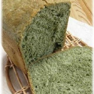 ホームベーカリーで簡単!よもぎパン☆