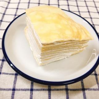 ホットケーキミックスで作る!ミルクレープ