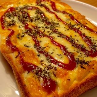慌ただしい朝に!たっぷりチーズの具なしピザトースト