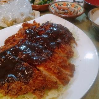 お惣菜のカツで簡単に♪矢場とん風味噌とんかつ☆