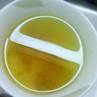 シンプル梅茶