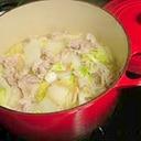白菜と豚バラのあったかしょうが重ね蒸し