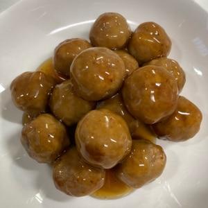 冷凍肉団子使用☆タレは手作り☆
