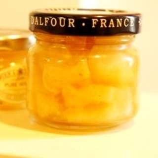 果実酒を作ったら、ちょっと大人のレモンマーマレード