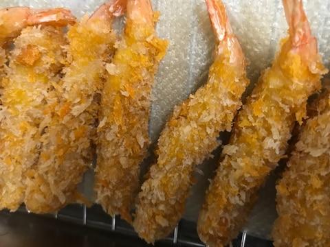 冷凍エビフライの美味しい揚げ方