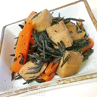 高野豆腐のひじき煮