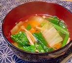 具だくさんな中華スープ