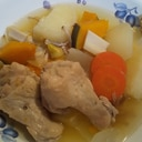 チキンと根野菜のポトフ 〜温かい洋風鍋〜
