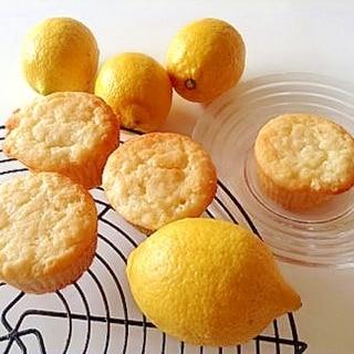 初恋のレモンマフィン♪〜しっとり爽やかな甘さ!