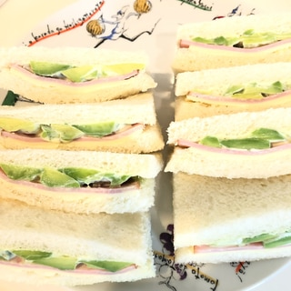 【簡単・スピード】アボカドサンドイッチ