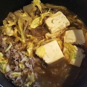 モーモー肉豆腐★黄金比すき焼きたれ(関東風)