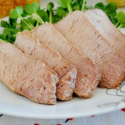 電子レンジで超簡単煮豚