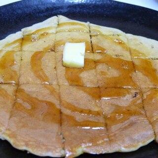 グラノーラ入りの簡単ホットケーキ