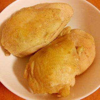 ヘルシー美味☆コンソメ風味のカンタンしっとり鶏ハム