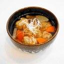 フワフワ鰯つみれ&彩り鮮やか根菜!いわしのつみれ汁