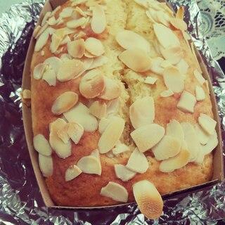 混ぜるだけ!バナナヨーグルトパウンドケーキ☆