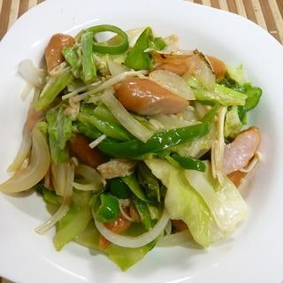 野菜たっぷり野菜炒め