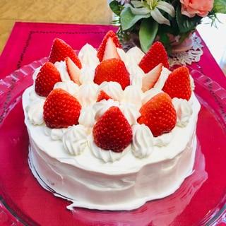 ホワイトデーに♡苺のショートケーキ♡