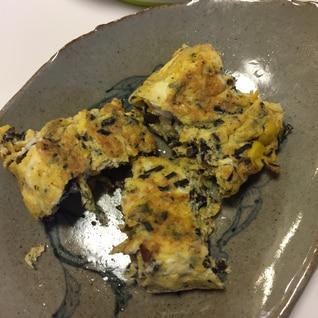 離乳食 ひじきとコーンの卵焼き