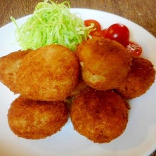 里芋と豚肉のコロッケ