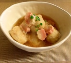 里芋と生麩の揚げ浸し
