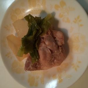 鶏肉・かぶ・しめじの煮物